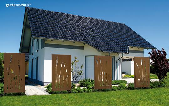 Ein garten ist nicht nur erholungs sondern auch r ckzugsraum for Gartengestaltung metall rost